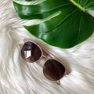 Nude Framed Sunglasses